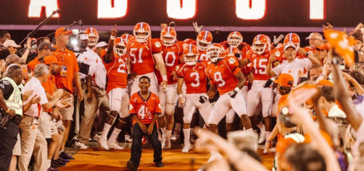 "Photos Released from the Upcoming Disney Film ""Safety"" About a Clemson University Football Player - MickeyBlog.com"