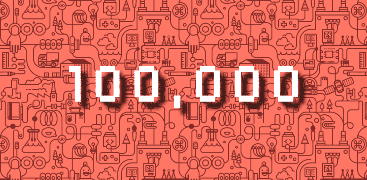 The journey to 100,000 installs
