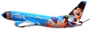 alaska disneyland plane