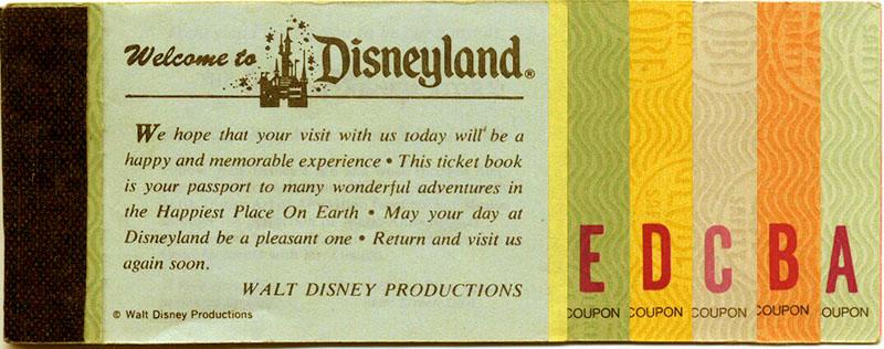 Disneyland admission discount coupons