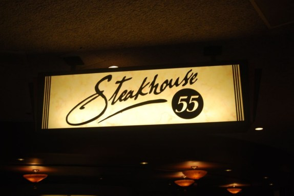 steakhouse 55 sign