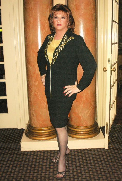 Micki Finn at the warwick Hotel in San Francisco prior to their remodel.