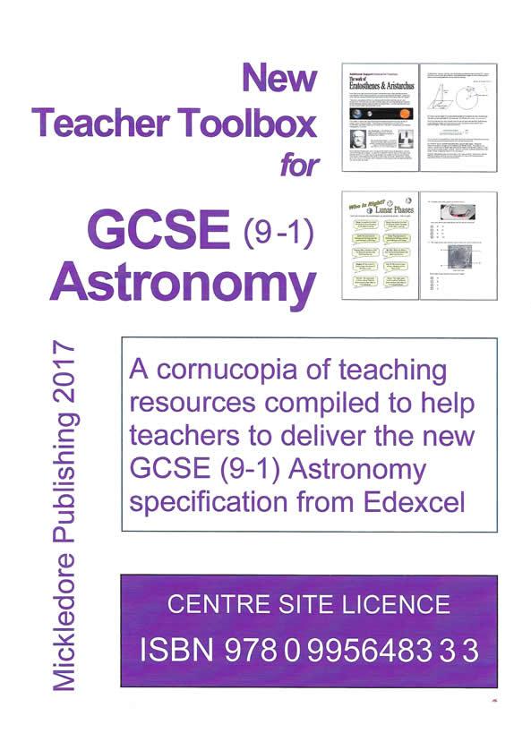 New Teacher Toolbox for GCSE (9-1) Astronomy