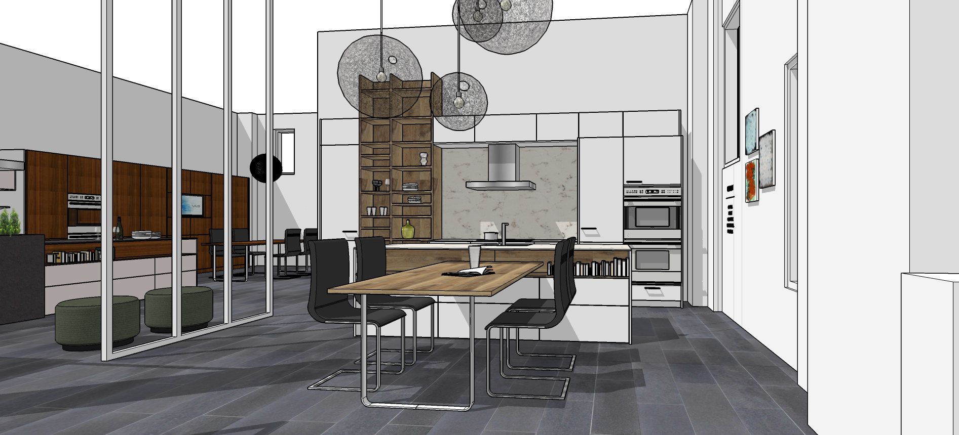 Working In Sketchup Mick Ricereto Interior Product Design