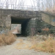 Secret 1917 Connection to Cynwyd Trail at North Side of Pencoyd Iron Works