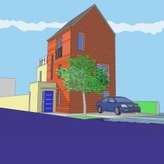 Low Carbon House. West Gorton
