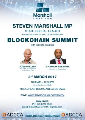 PICTURE: Premier embroiled in dubious blockchain claim