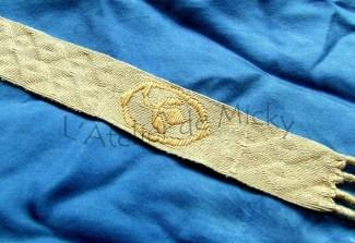 Broché pour le costume du personnage de l'empereur Othon IV pour Bouvines 2014