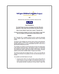 Refugee Children's Rights Project