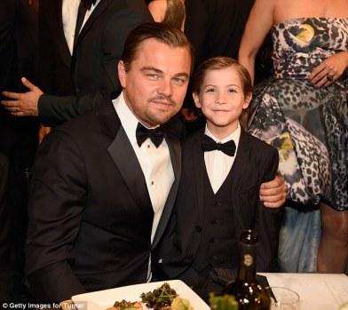 Leo DiCaprio y Jacob Tremblay