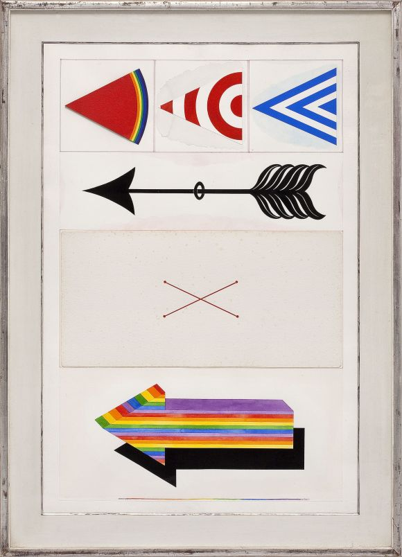 lucio-del-pezzo-senza-titolo-1964-tecnica-mista-su-carta-104x69-cm