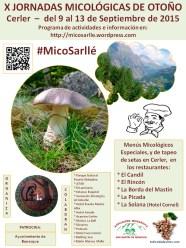 X Jornadas Micológicas de Otoño 2015, #MicoSarlle En Cerler-Benasque (Huesca)
