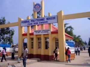 Federal Poly Nekede Post UTME Form