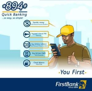 First Bank Transfer Short Codes