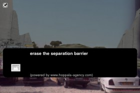 Mark Skwarek – Erase the Separation Barrier Showing what's on the other side of a border through Augmented Reality.