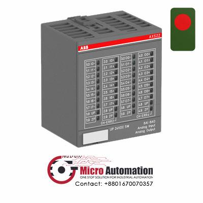 ABB AX522 Analogt input - output module