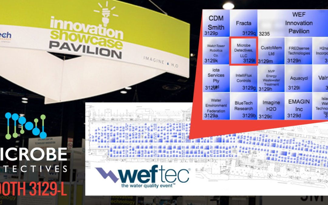 Microbe Detectives selected for the WEFTEC Innovation Pavilion
