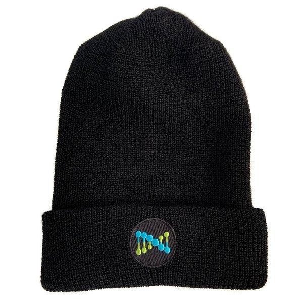 black wool hat DNA symbol