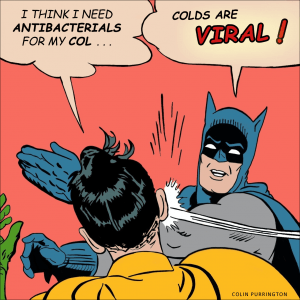 colds are viral