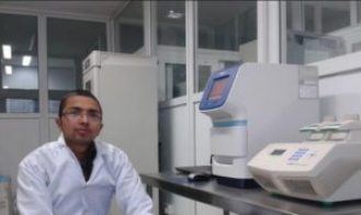 I was excited and pose for photo (few years back), when our Lab got the Real-Time PCR first time.