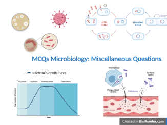 MCQs Microbiology Miscellaneous Questions