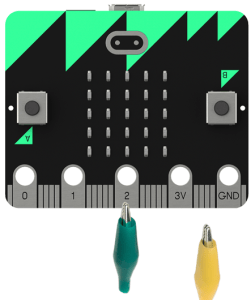 microbit pushswitch connections