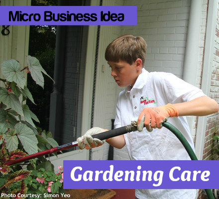 Micro Business Idea: Garden Care Business
