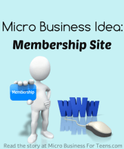 Learn how a 5 year old kid started his own membership training site about dinosaurs. At MicroBusinessForTeens.com