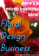 Here's an idea! Start a floral design business just like William Lynch of Lynch Design Florist did.