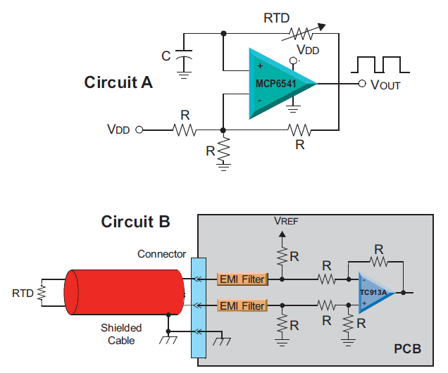 Resistive Temperature Detector Rtd