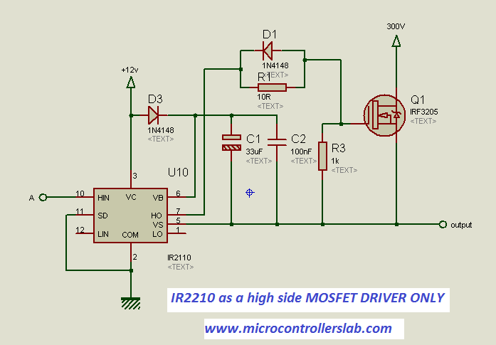 high side mosfet driver