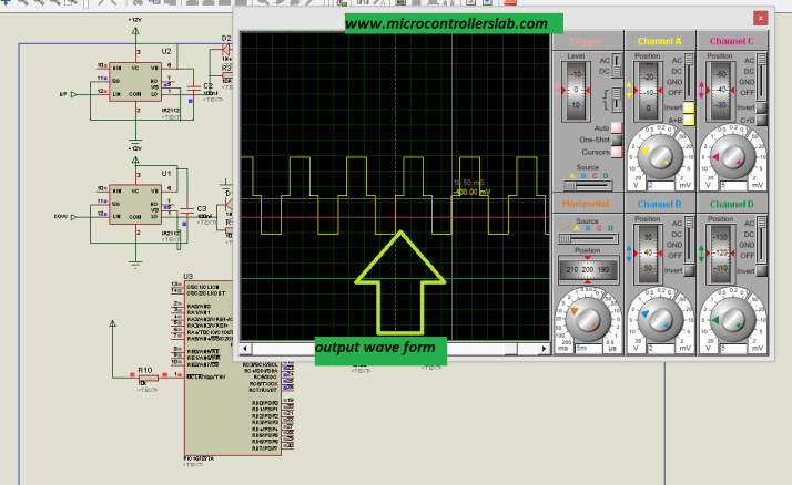 output of modified sine wave inverter