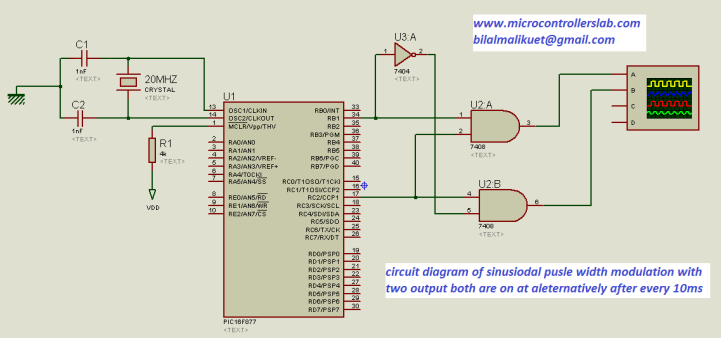 spwm circuit diagram