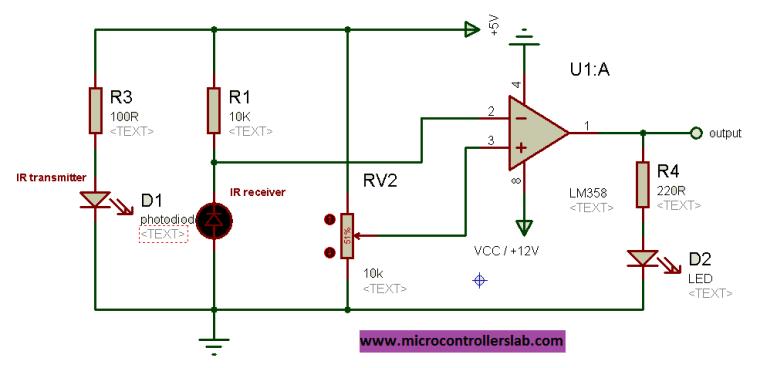 infrared circuit diagram
