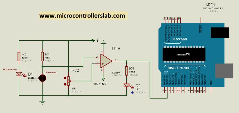 infrared sensor interfacing with arduino uno r3