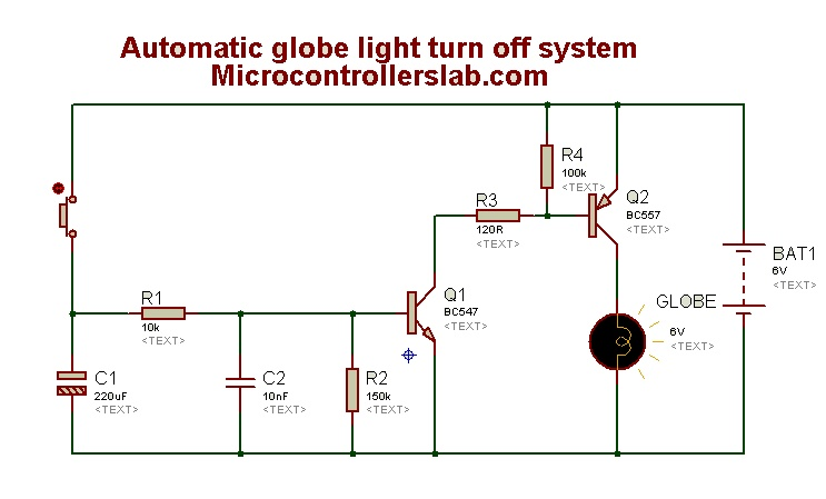 globe light control circuit