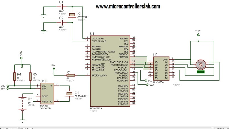time based solar tracking system circuit diagram