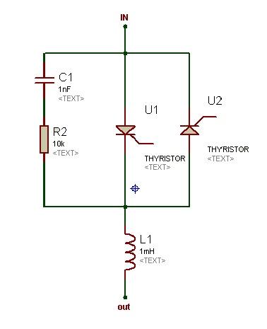 unpolarized snubber circuit