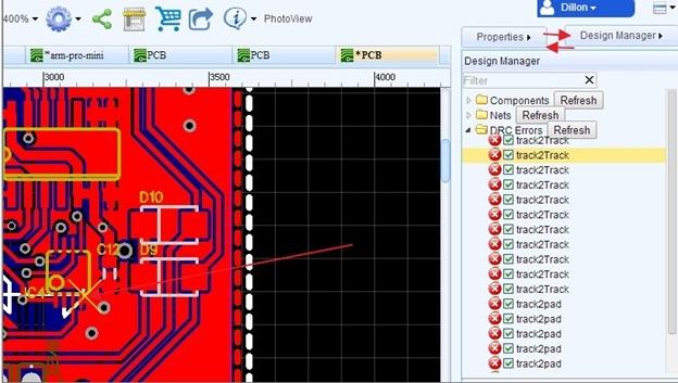 easyda PCB designing