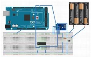 esp8266 wifi module interfacing with arduino