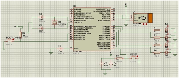 USB interfacing with PIC microcontroller with code