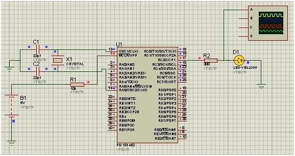 CCP module of pic microcontroller