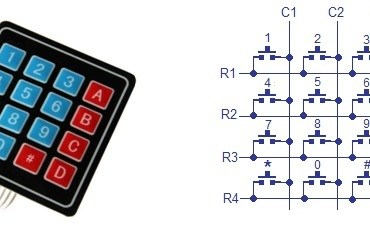 keypad interfacing 8051 microcontroller