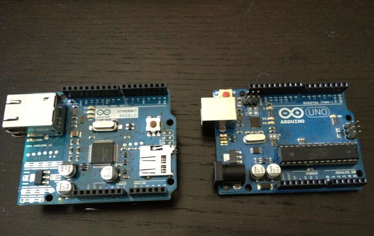 Interfacing Ethernet Shield with Arduino: How to send data