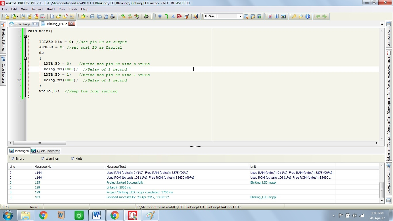 """How to Use """"MikroC PRO for PIC"""" to Program PIC Microcontrollers"""