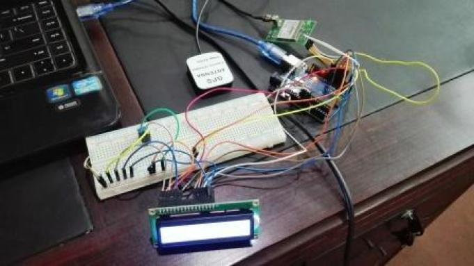 GPS module interfacing with Arduino