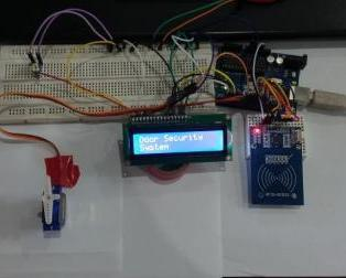 Door Security System Using RFID RC522 and Arduino