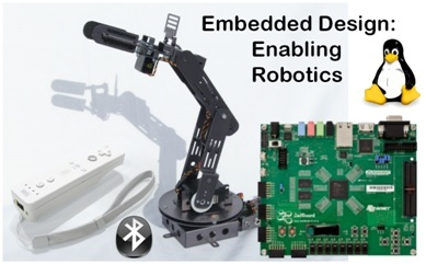 industrial robots as example of embedded systems