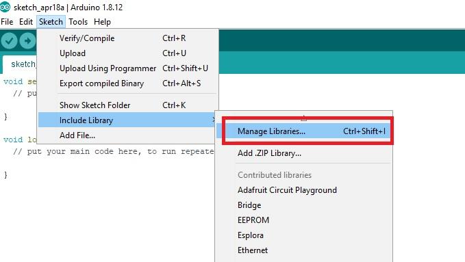 install FreeRTOS library in Arduino IDE