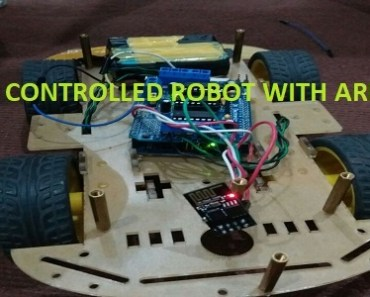 wifi controlled robot using arduino